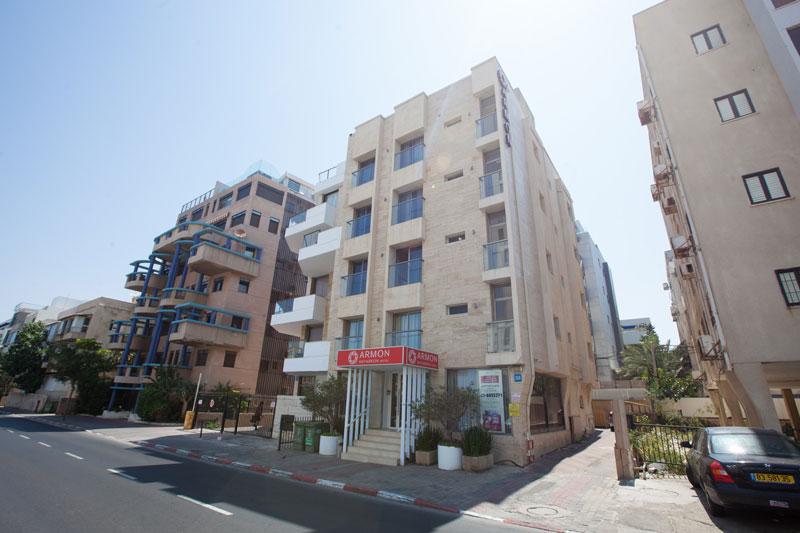 Bâtiment de l'hôtel Armon Hayarkon - Tel-Aviv