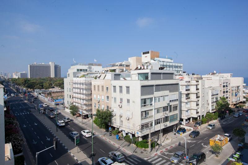 Vue sur Tel-Aviv de l'hôtel